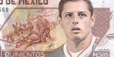 En México ya planean homenajearlo poniendo su rostro en los billetes de 500 pesos. Foto:Vía Twitter