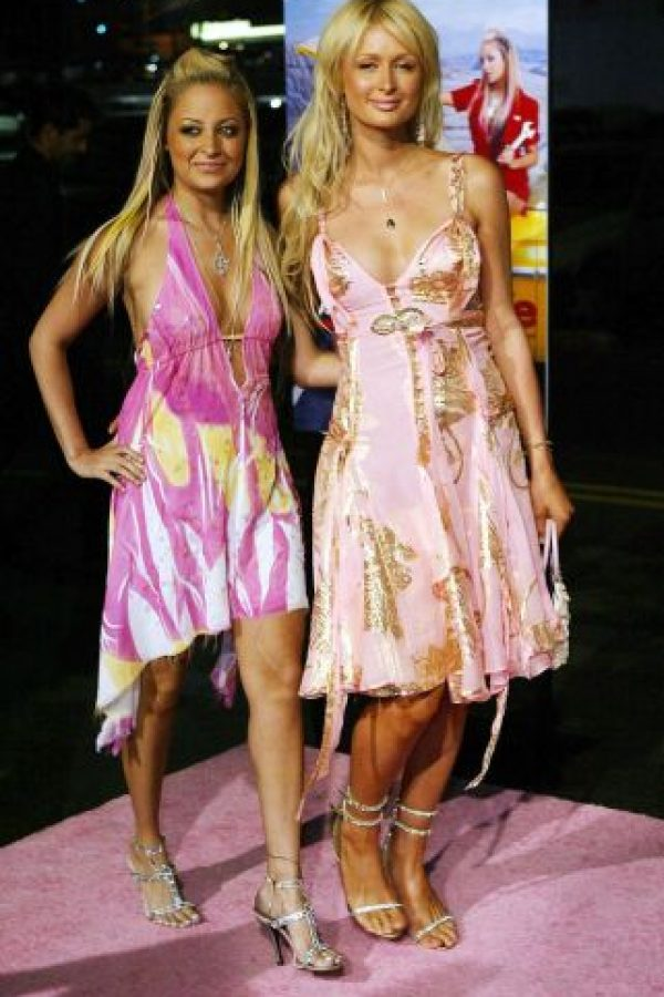 Paris Hilton encarnó todos los excesos de esta década. Todo el brillo, mal gusto y falta de glamour. Foto:vía Getty Images