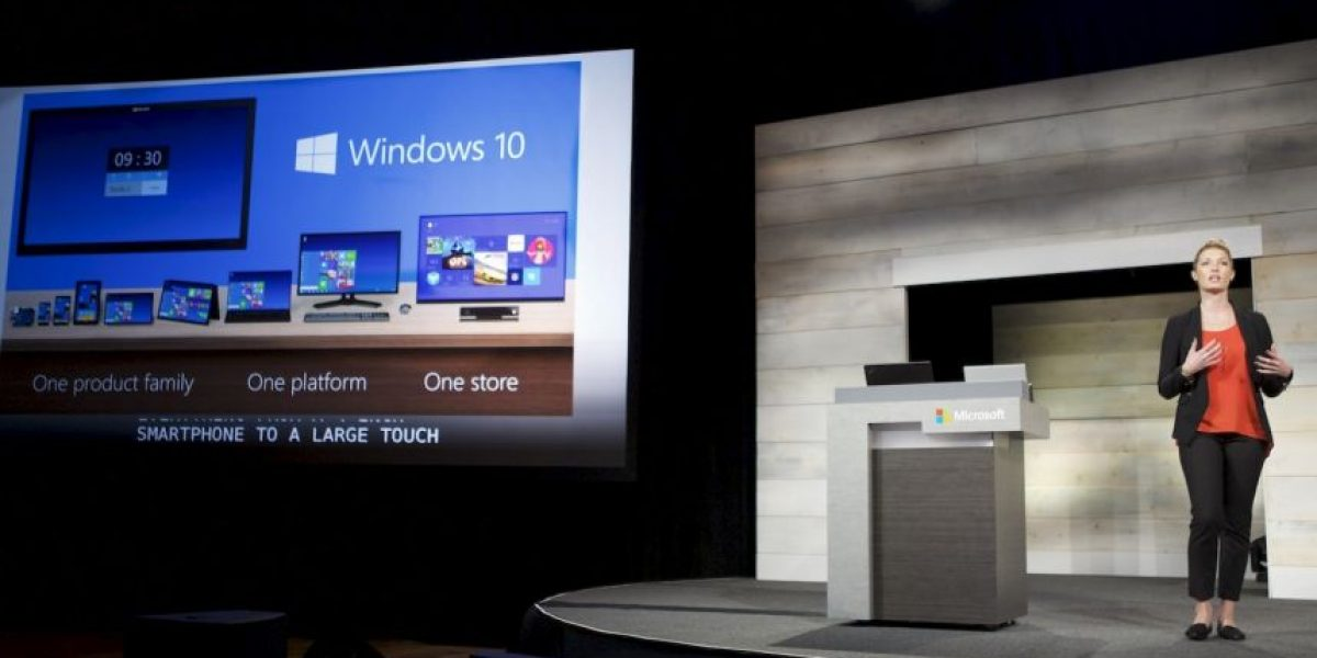 Revelan accidentalmente fecha del estreno de Windows 10
