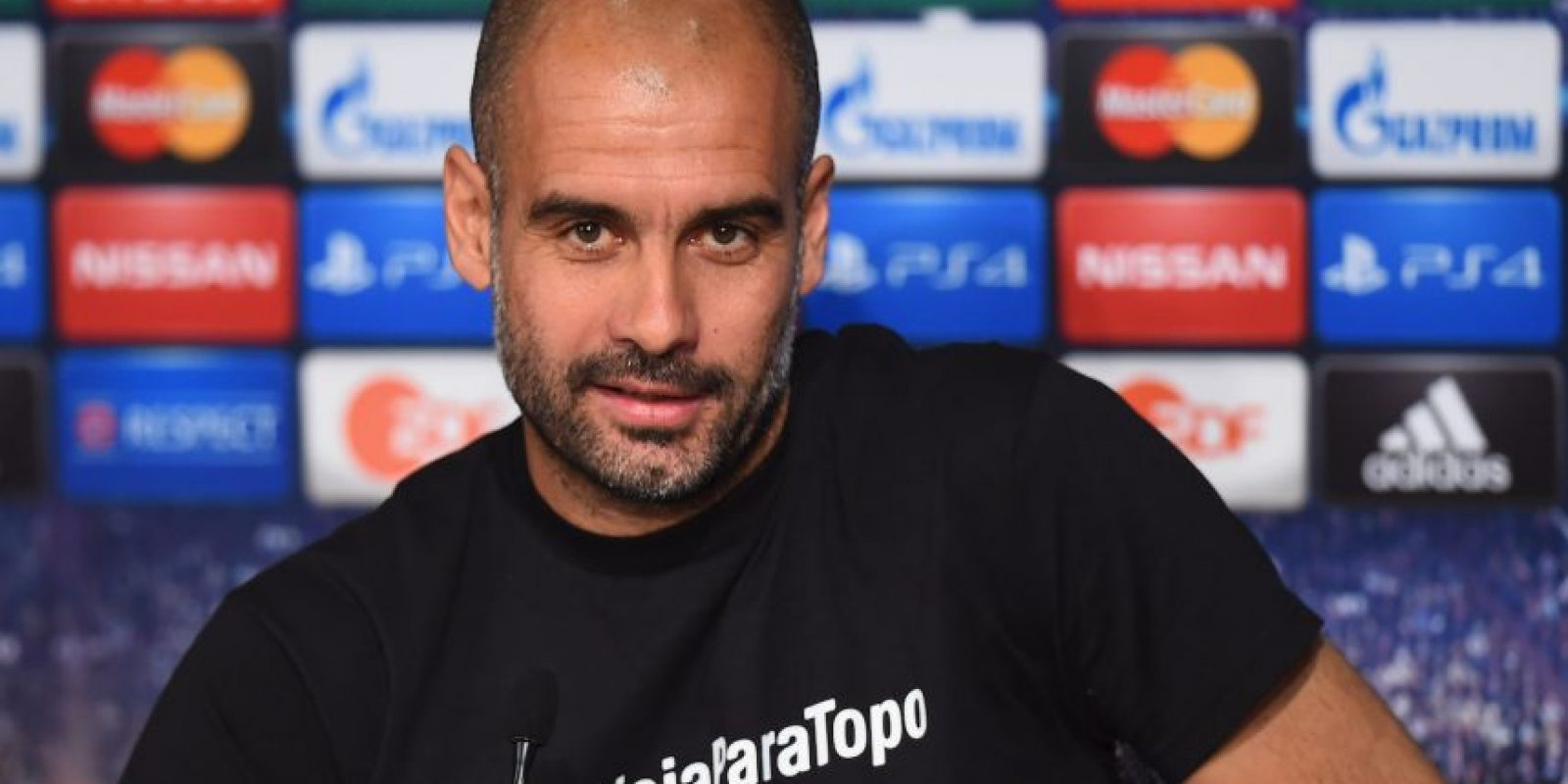 """Se trata de Jorge López, conocido como """"Topo"""", quien cubrió la Copa del Mundo para La Red, diario Olé y Sport de España. Foto:Getty Images"""