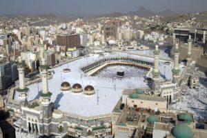 Por su parte Meca es una de las ciudades más santas e importantes del Islam Foto:Getty Images
