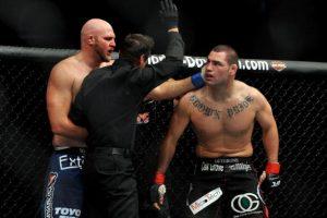 El peleador no cierra las puertas a la empresa del entretenimiento deportivo Foto:Getty Images