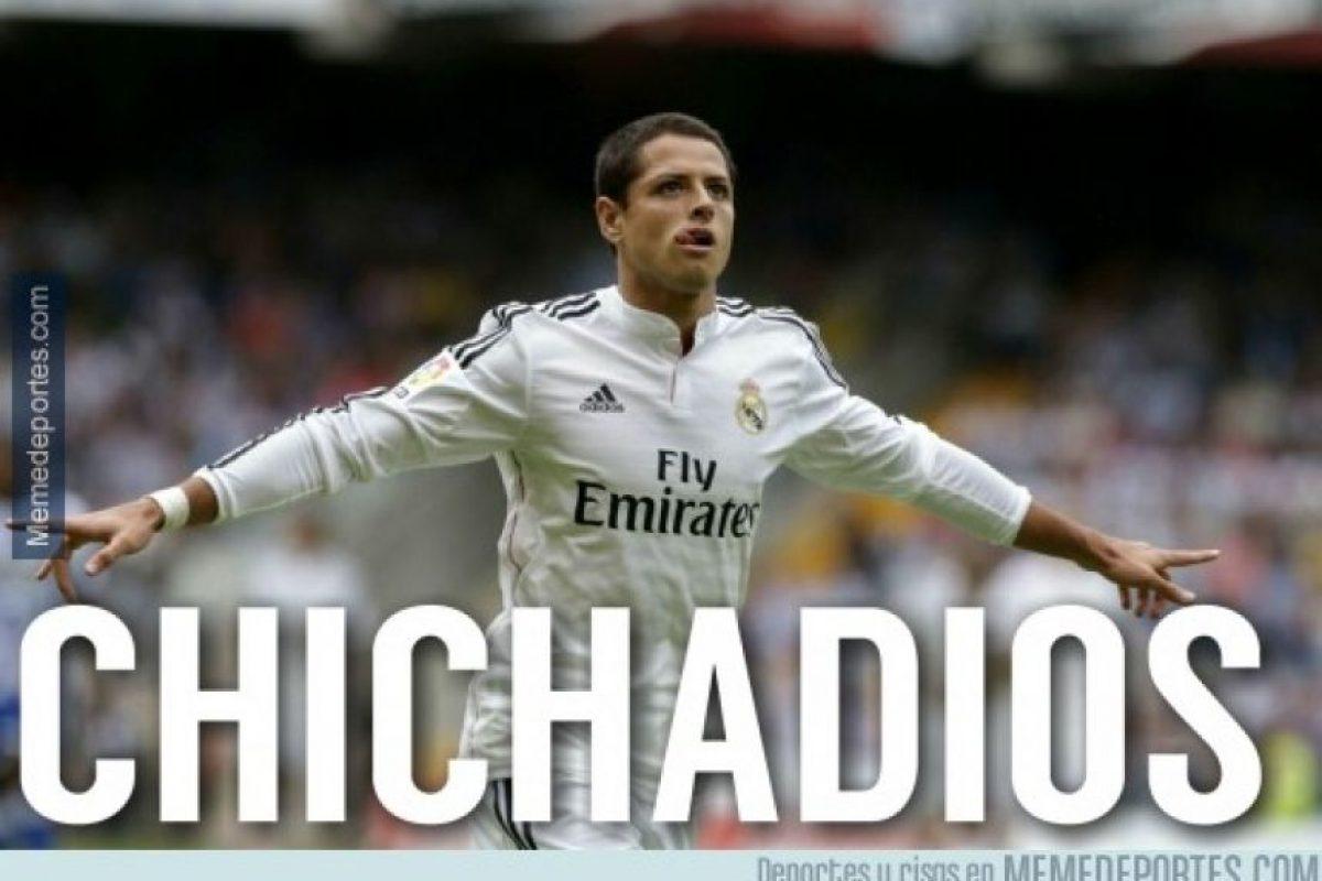 """Y generó este tipo de imágenes con su nuevo apodo, """"Chichadios"""". Foto:memedeportes.com"""