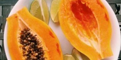 11. Las encimas de la papaya ayudan a obtener una mejor digestión, reduce el riesgo de padecer cáncer de pulmón. Y si piensan consumirla antes o después de ejercitarse, háganlo, pues favorece la quema de grasas corporales. Foto:Tumblr.com/tagged-frutas