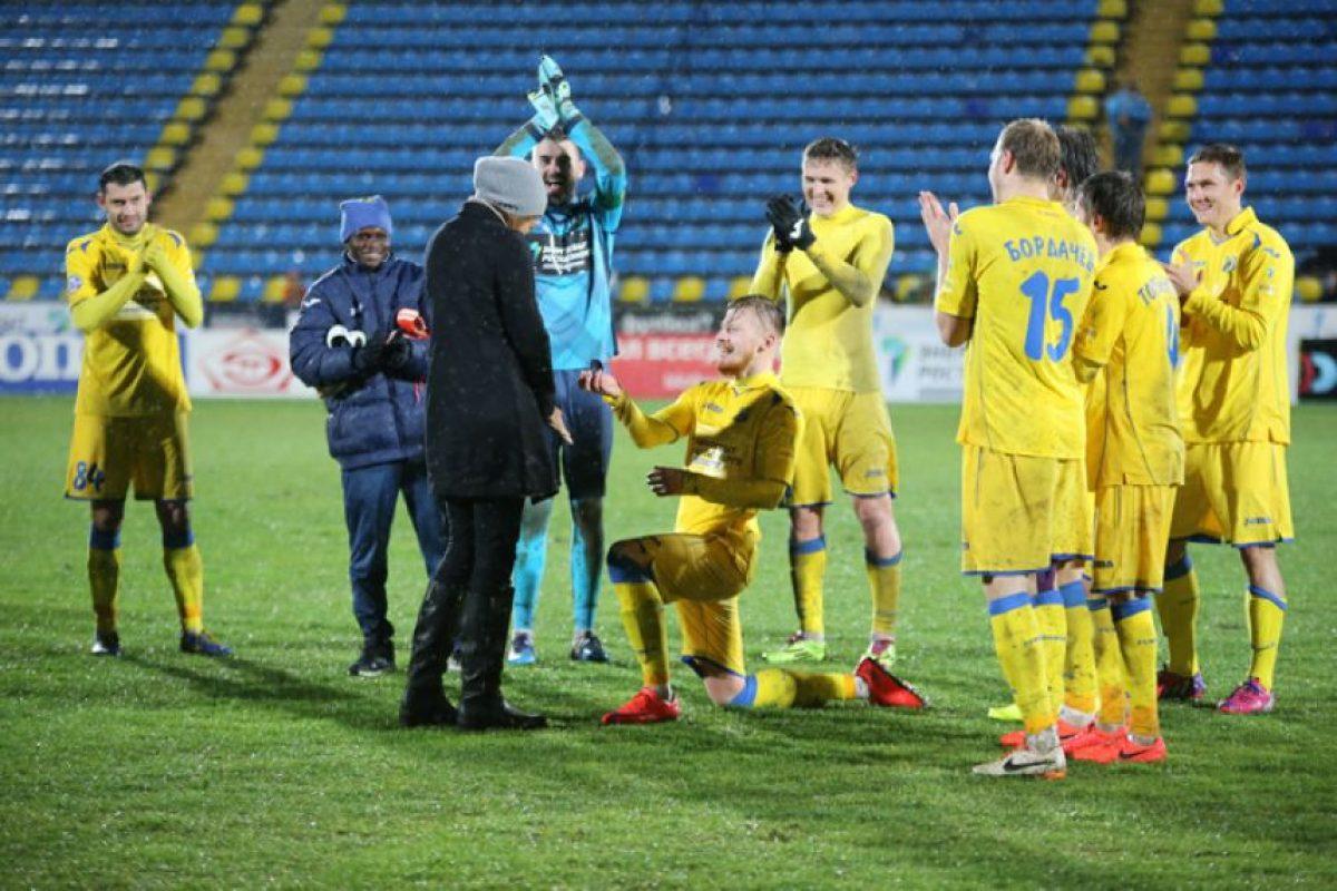Ocurrió en la casa del FC Rostov, equipo de fútbol de Rostov del Don, ciudad ubicada al sur de este país. Foto:fc-rostov.ru