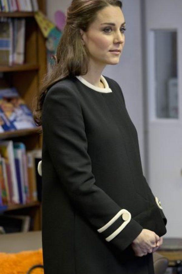 4. Se espera que la duquesa de Cambridge de a luz en cualquier momento. Foto:Getty Images