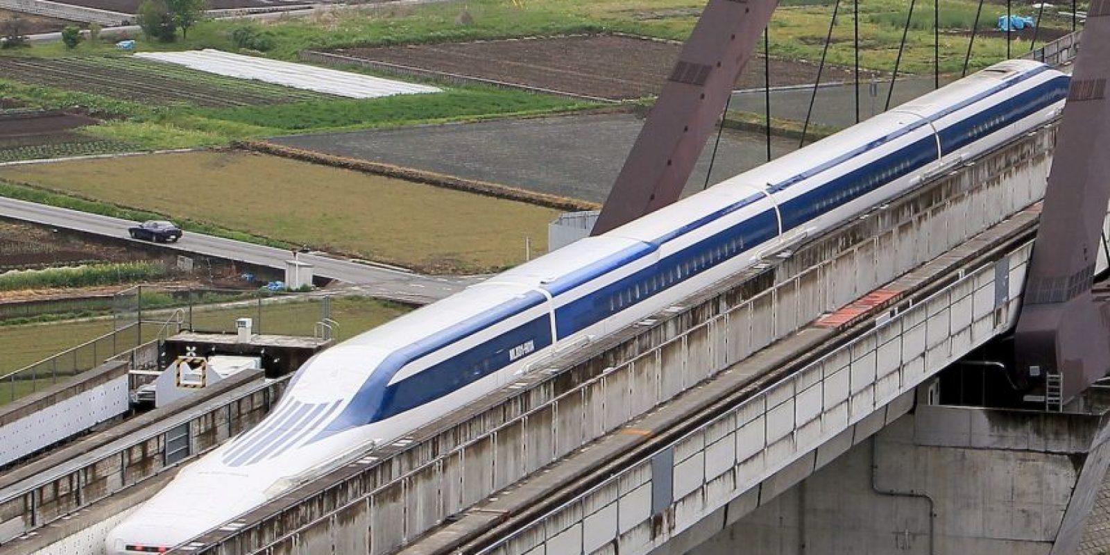 """Para cubrir los gastos, Japón planea vender su sistema de tren bala y el """"Maglev"""" al extranjero. Foto:AFP"""