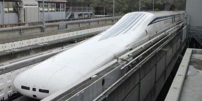 Este tren funciona con un sistema de propulsión de fuerzas atractivas y repulsivas. Foto:Getty Images