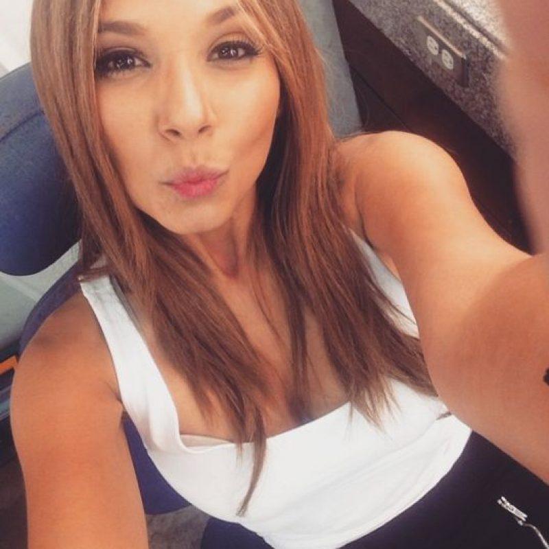 Melissa Martínez es otra que provoca en su redes sociales con estos besos. Foto:Instagram Melissa Martínez
