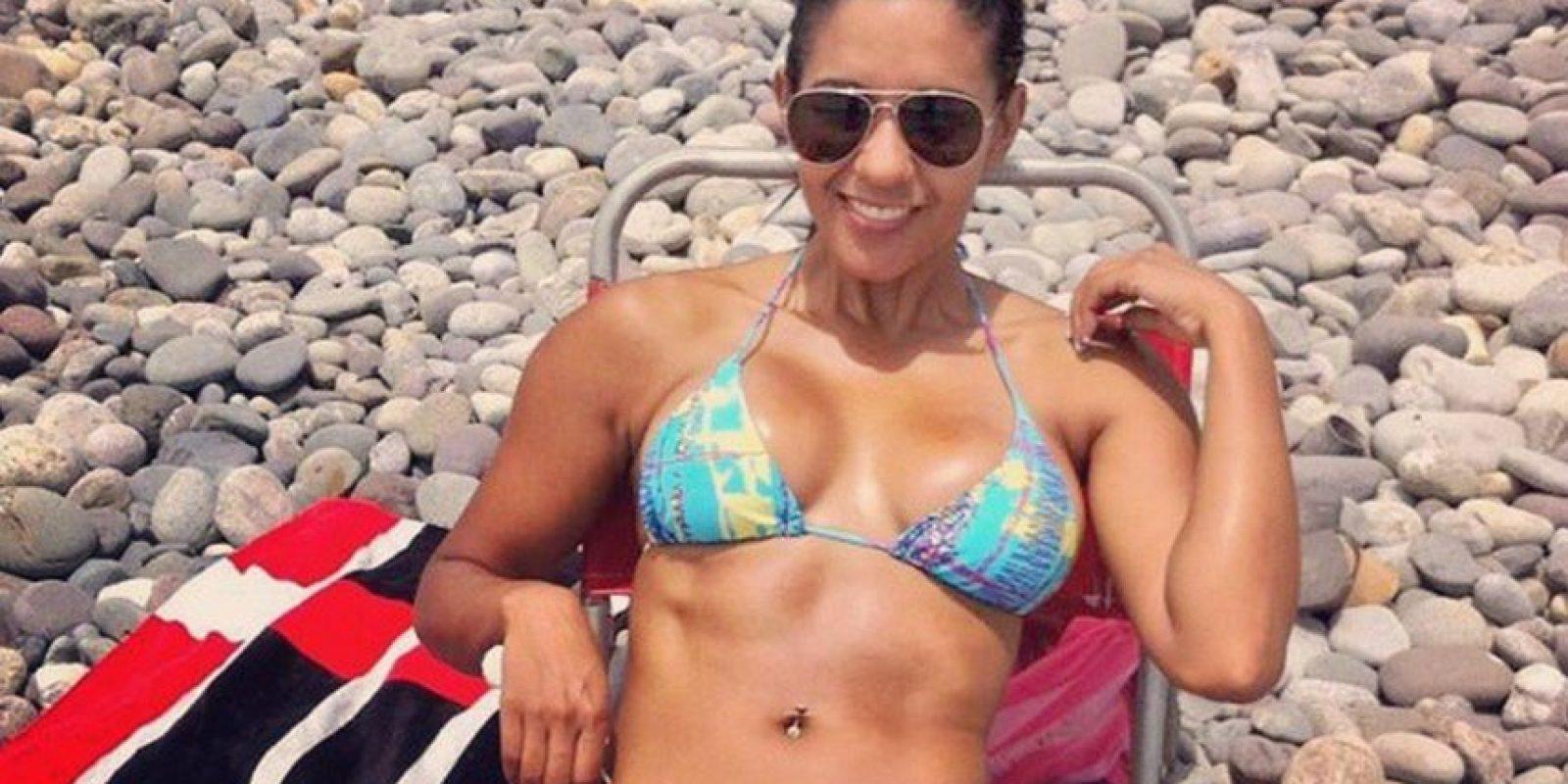 También es modelo Foto:Vía instagram.com/rociomiranda11