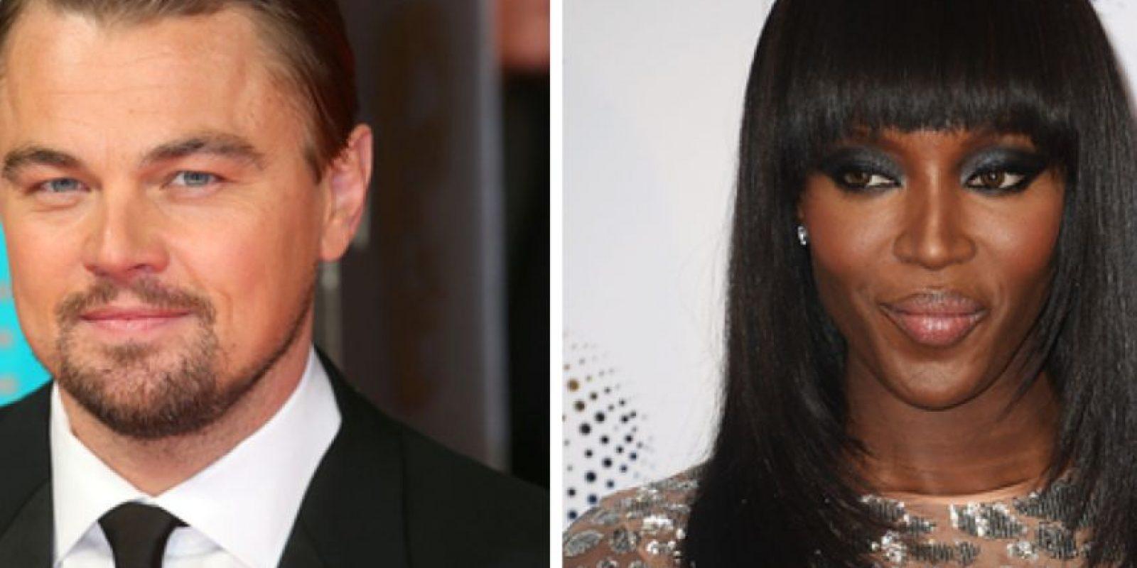 """Leonardo DiCaprio salió con Naomi Campbell en 1995 antes de que él consiguiera su papel en """"Titanic""""."""