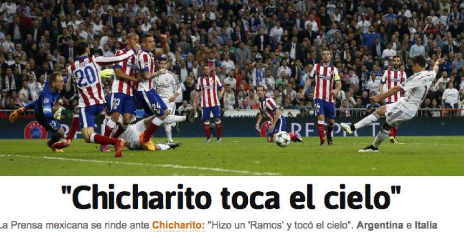 Y esta fue la portada en la edición online. Foto:as.com
