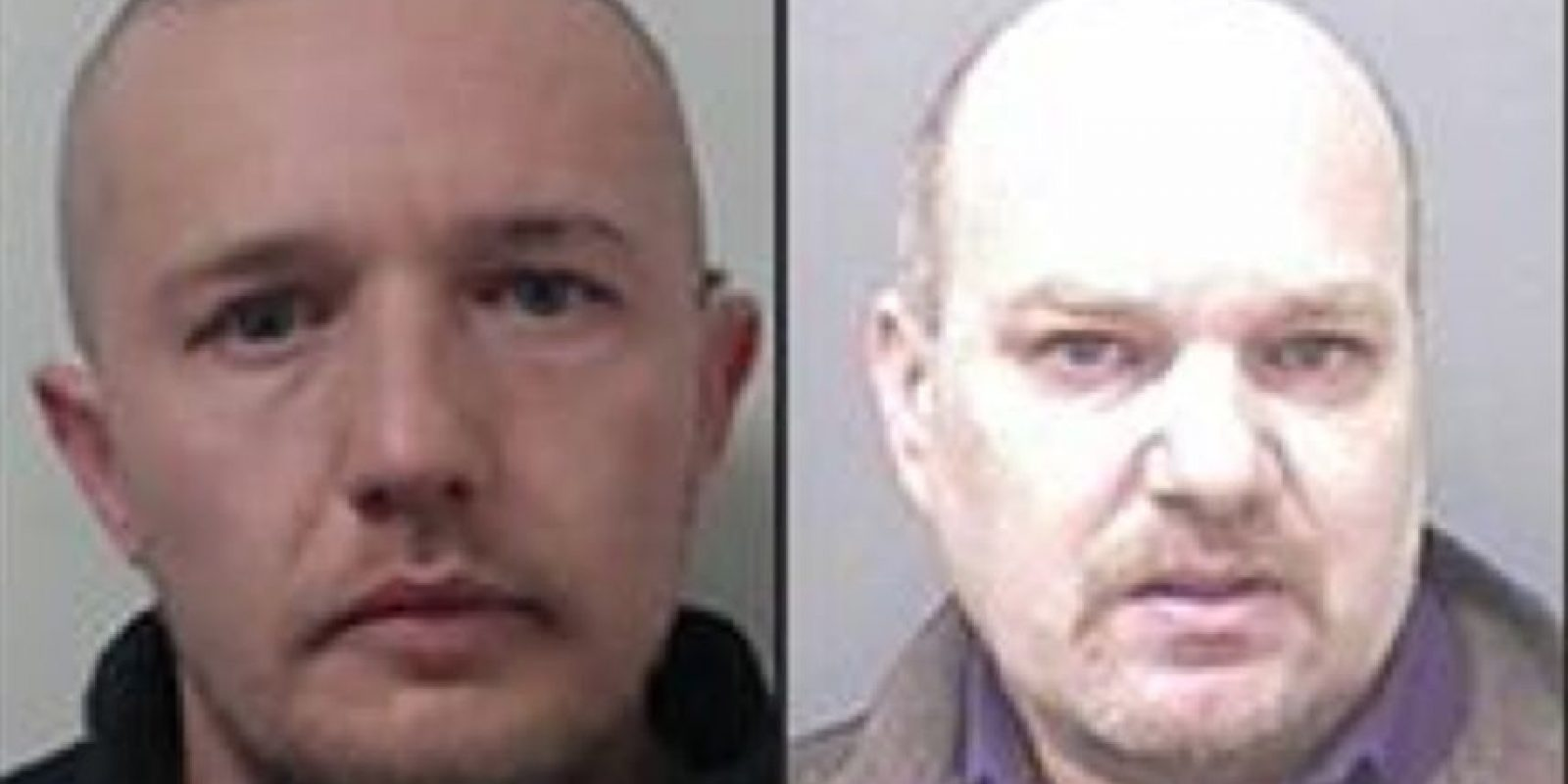 De Izquierda a derecha: Chris Knight 35, David Harsley 51 Foto: Vía www.nationalcrimeagency.gov.uk