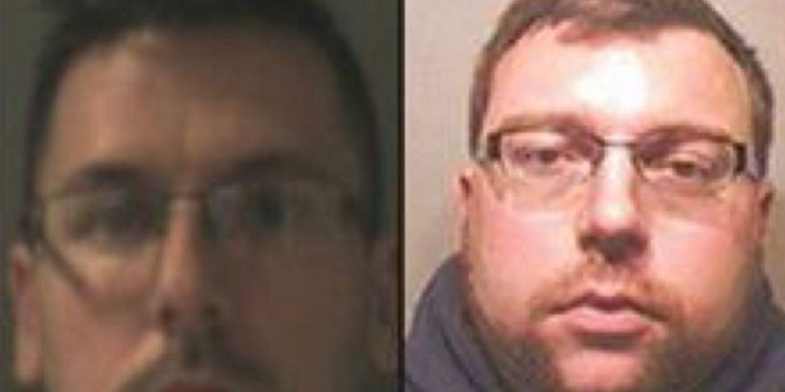 De izquierda a derecha Matthew Stansfield 34 y Robin Hollyson 30 Foto:Vía www.nationalcrimeagency.gov.uk