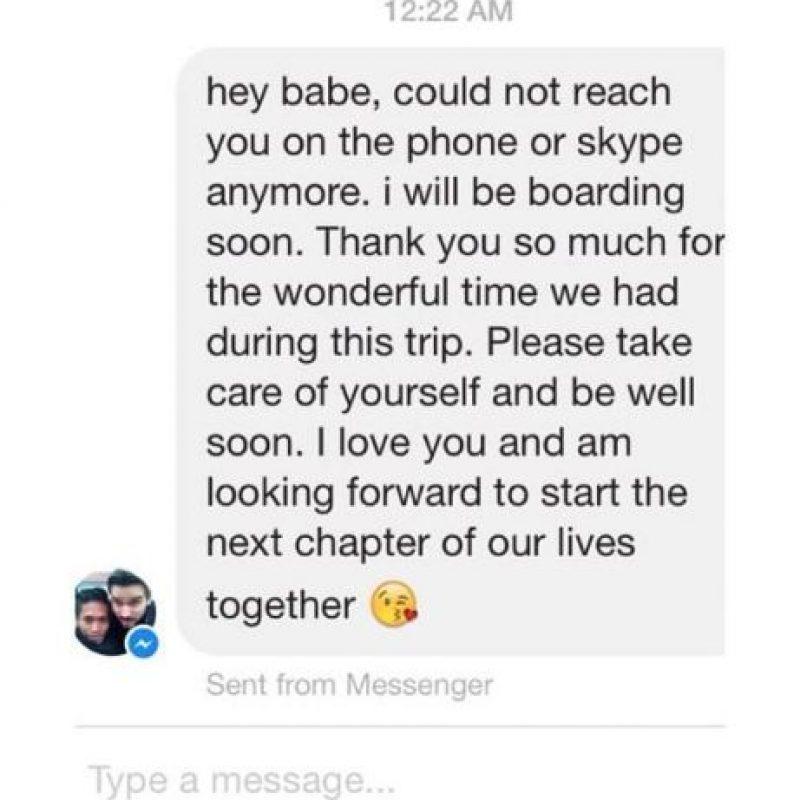 En su página de Facebook, la pareja muestra su amor al mundo. Foto:Vía Facebook/NaparujThorstenOfficial