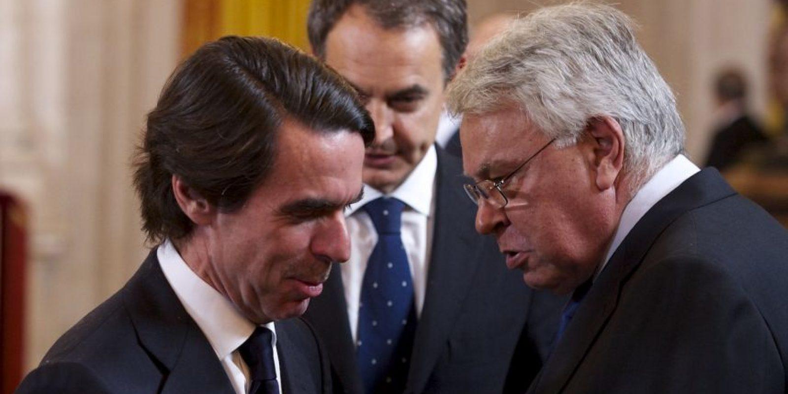 El expresidente español Felipe González espera que no le impidan la entrada a Venezuela. Foto:Getty Images