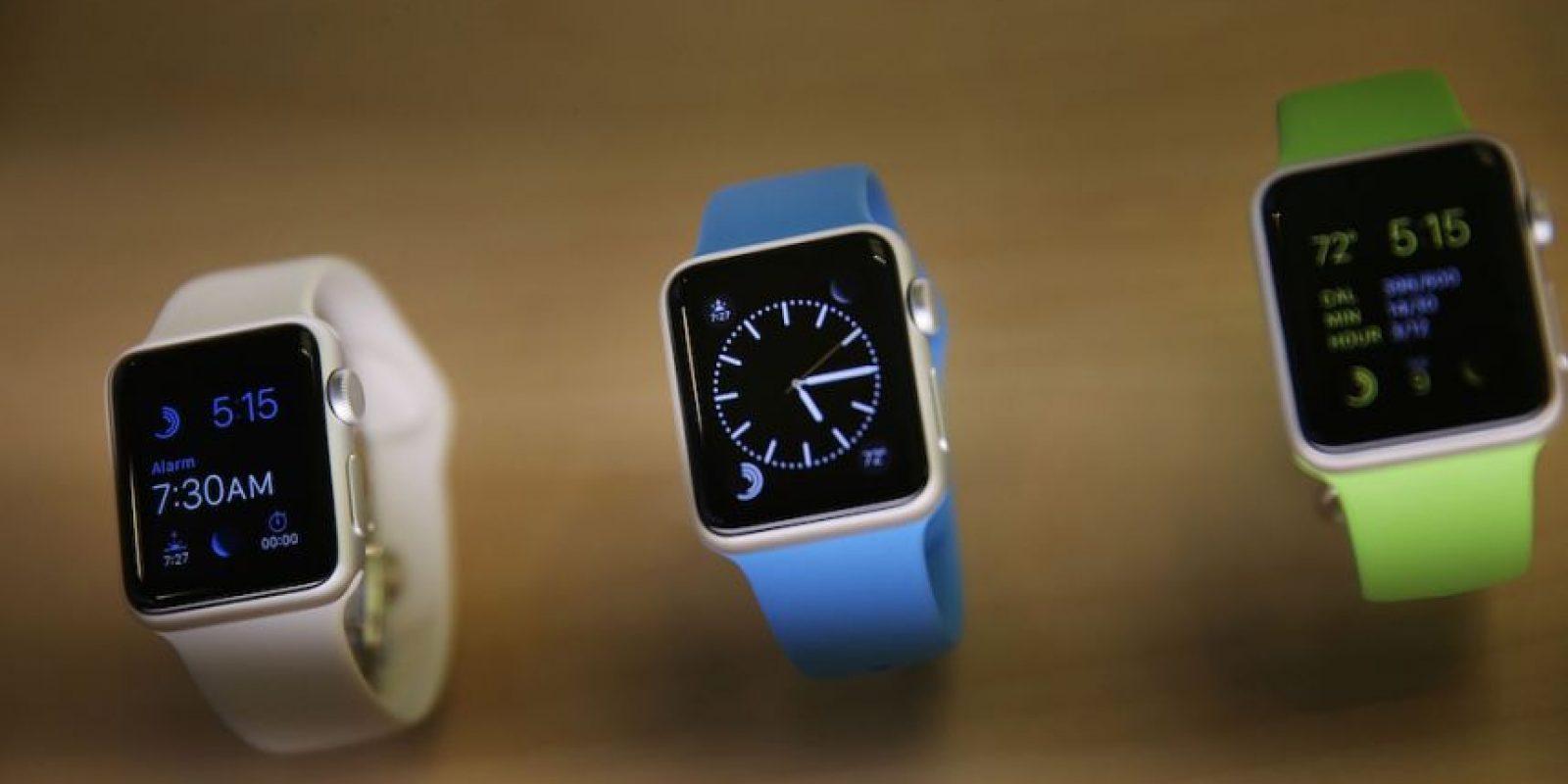 Apple Watch se lanzará oficialmente el 24 de abril. Foto:Getty Images