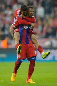 Defensa: Jerome Boateng (Bayern Munich) Foto:Getty Images