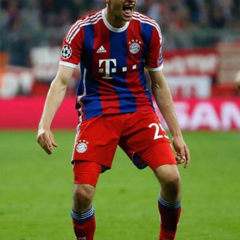 El ariete alemán salió encendido en el partido ante Porto. Marcó el cuarto gol de la tarde y asistió a Robert Lewandowski en sus dos anotaciones. Foto:Getty Images