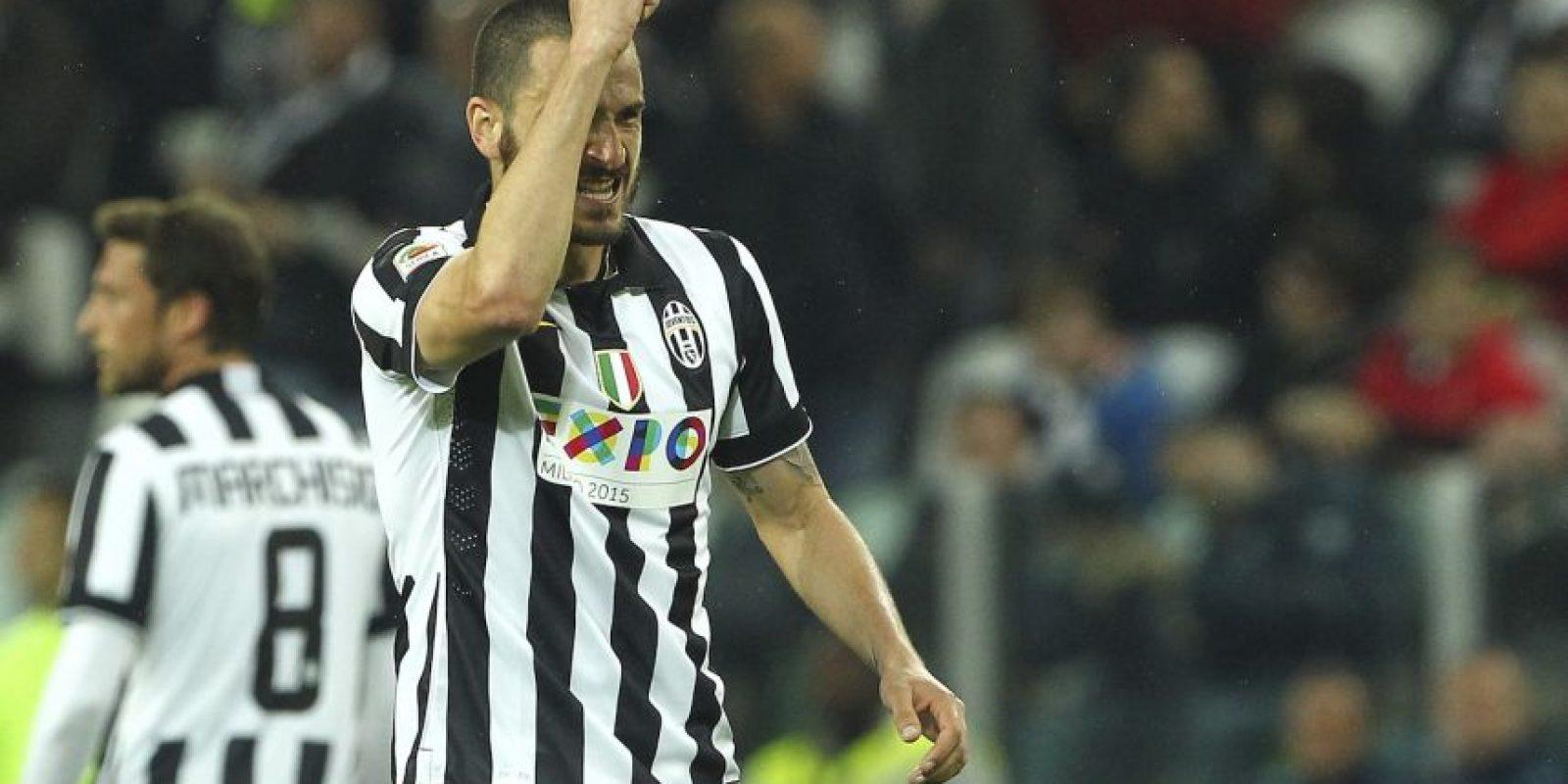 """Fue la pieza clave de la defensa de la """"Juve"""" para aguantar la presión en Mónaco y defender el gol que les dio el pase a semifinales. Foto:Getty Images"""