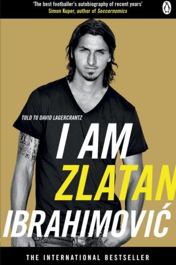 I'm Zlatan Ibrahimovic de Zlatan Ibrahimovic y David Lagercrantz (2011) Foto:amazon.com