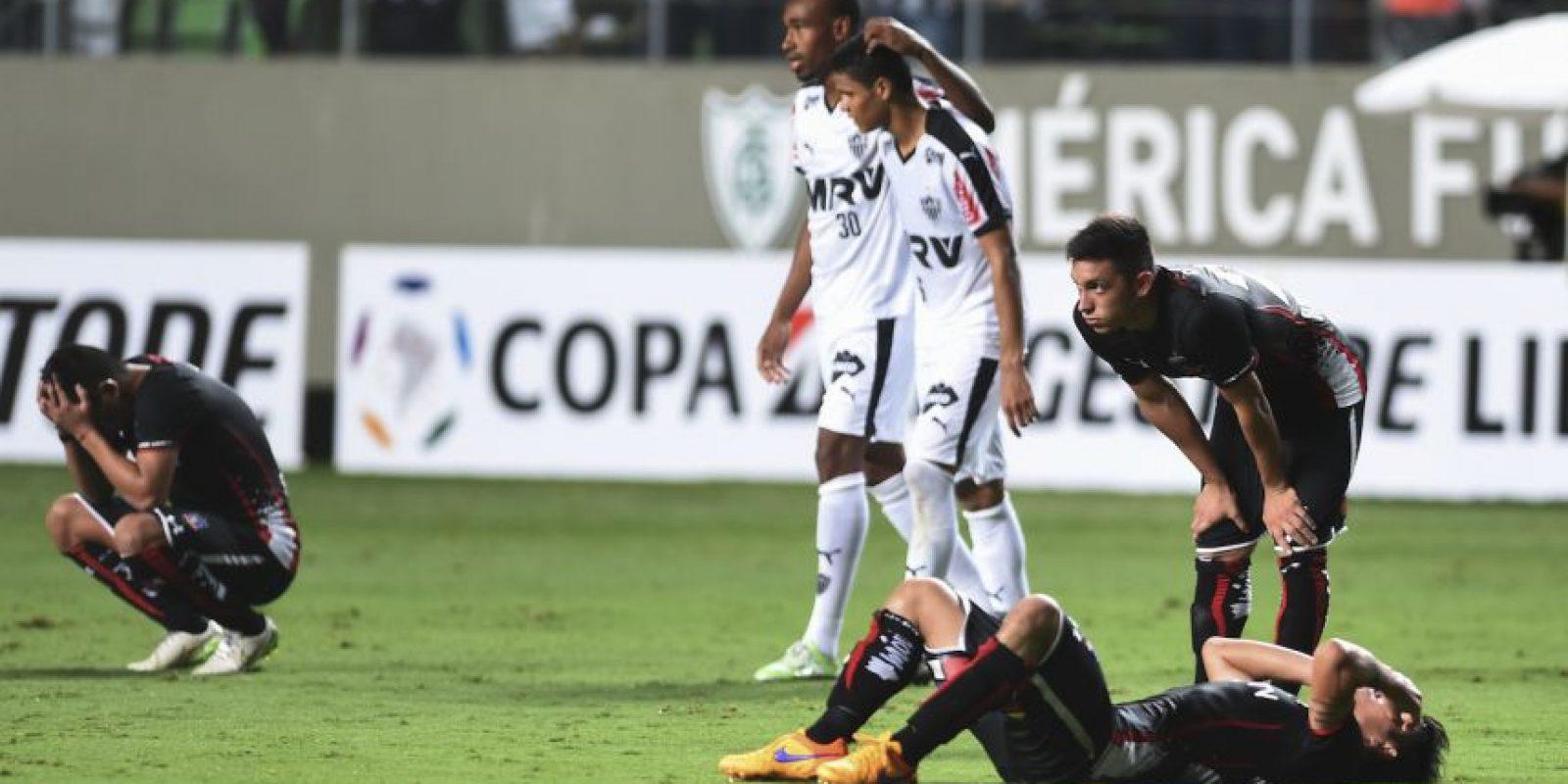 Con este resultado, los chilenos fueron eliminados. Foto:AP