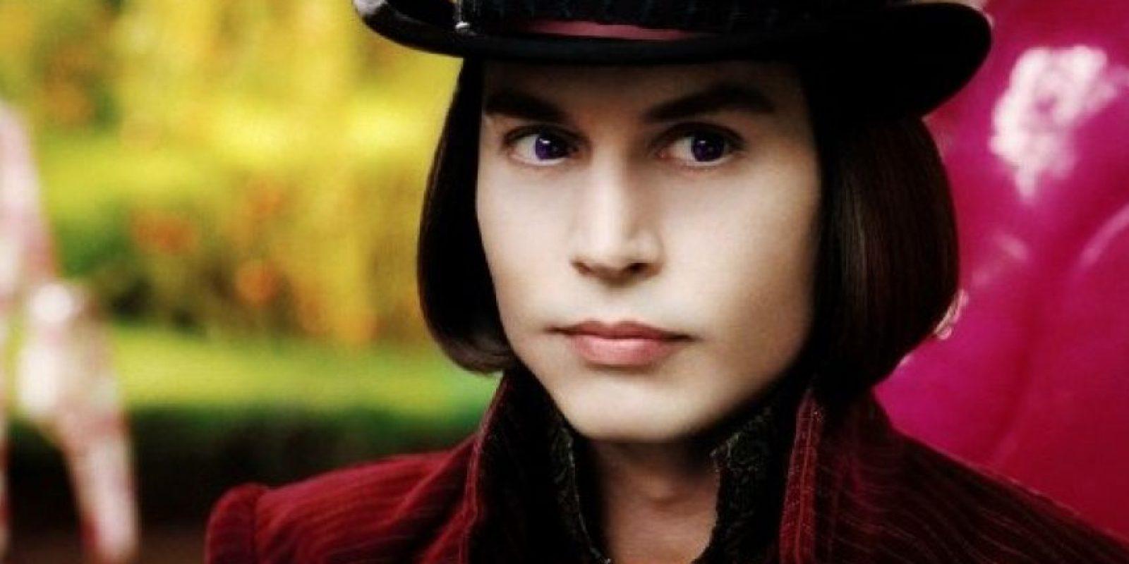 Como en el caso de Willy Wonka Foto:IMDb