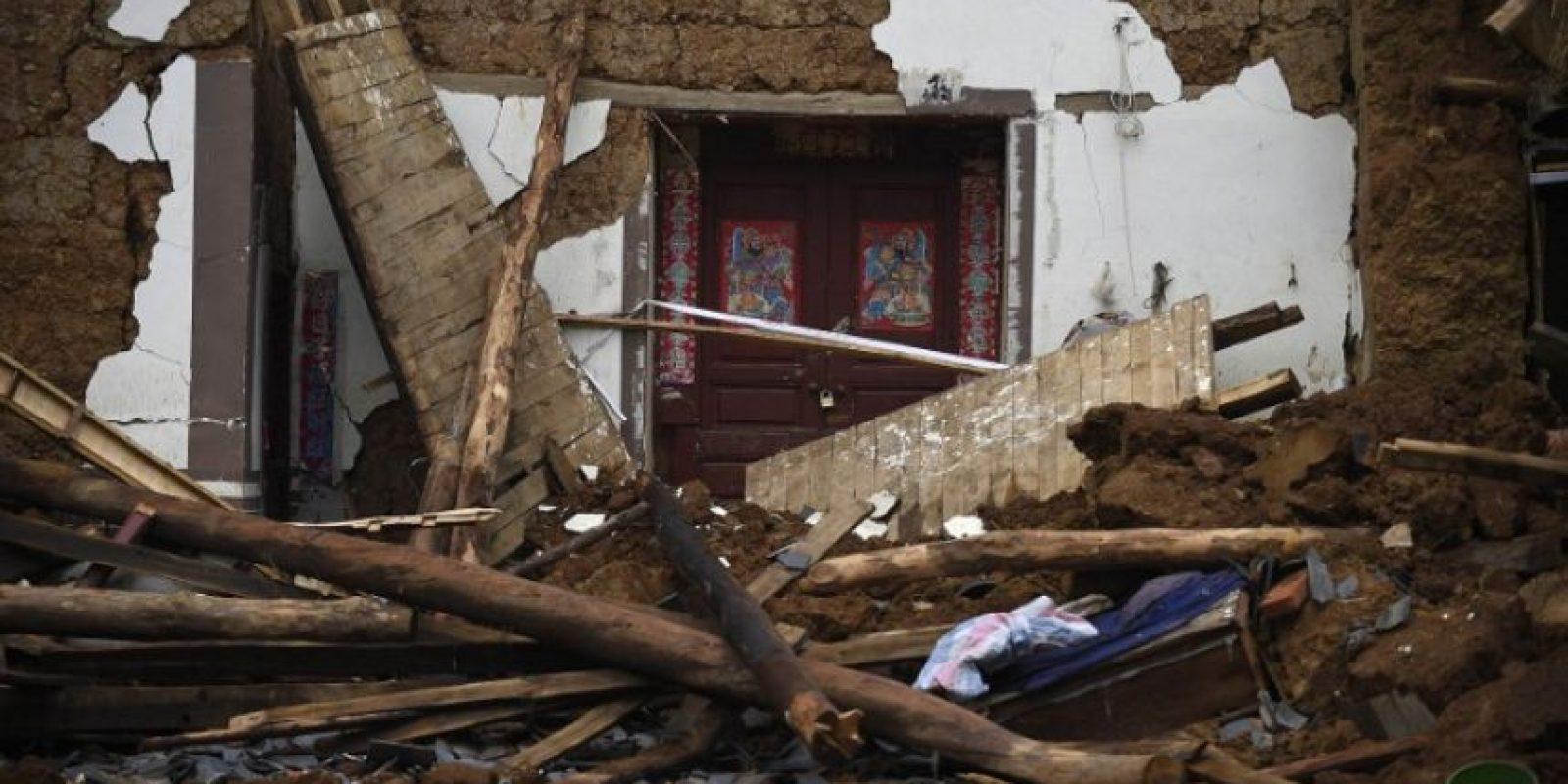 Es el terremoto es el más fuerte que ha azotado a la región en los últimos 14 años Foto:AFP