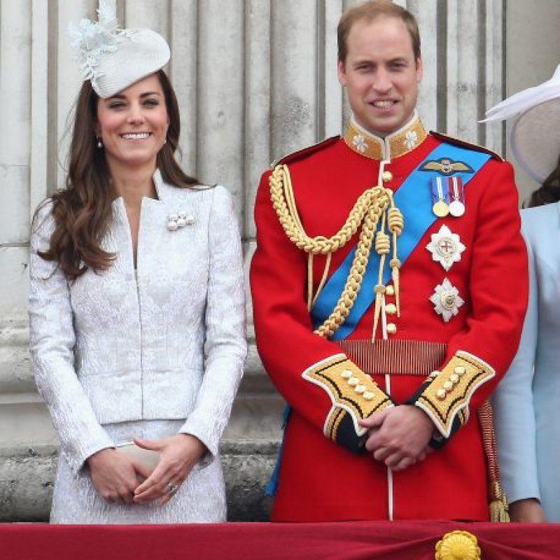 2. ¿Dónde está Kate Middleton? Foto:Getty images