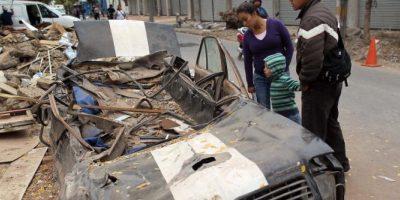 8. 27 de febrero de 2010, Bio-Bio, Chile: El sismo cuya magnitud fue de 8.8 cobró la vida de 521 personas. Foto:Getty Images