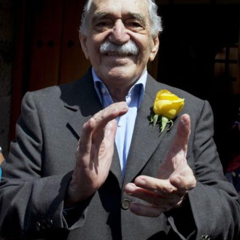 Gabriel García Márquez. Durante sus épocas de periodista, Gabo recibió amenazas y se vio obligado a irse de Colombia. Vivió en México casi toda su vida. Foto:Archivo EFE
