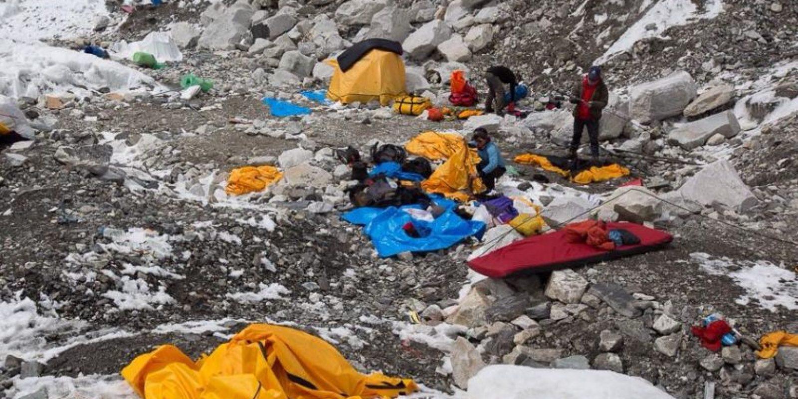 Imágenes captadas por la guatemalteca Andrea Cardona Foto:www.facebook.com/RumboalEverest