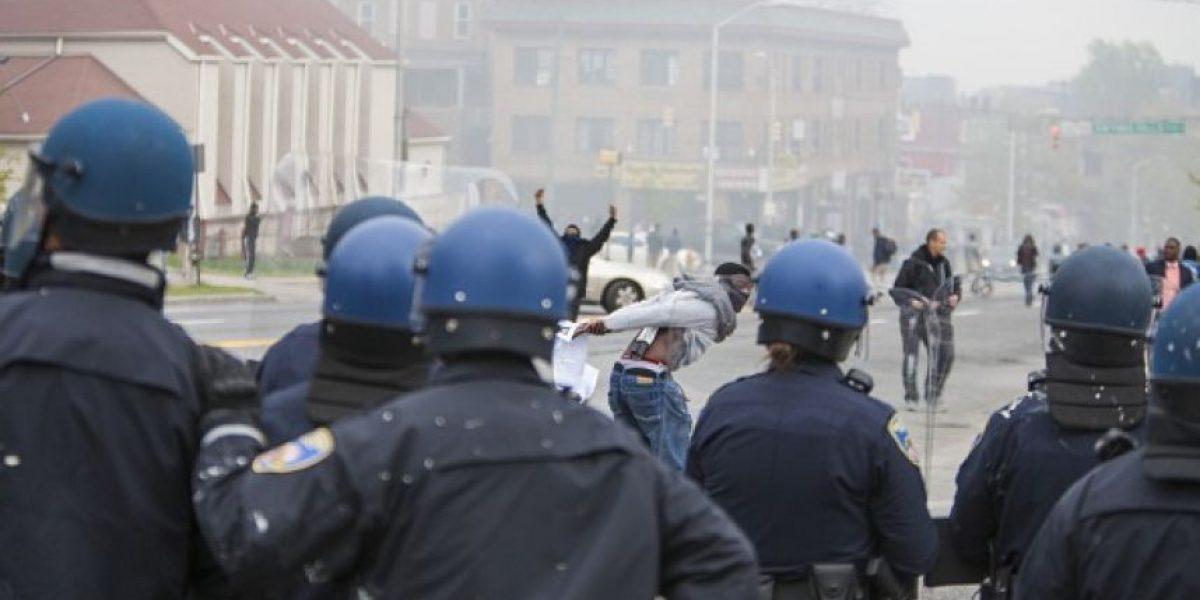 FOTOS: Las imágenes más impactantes de los enfrentamientos en Baltimore