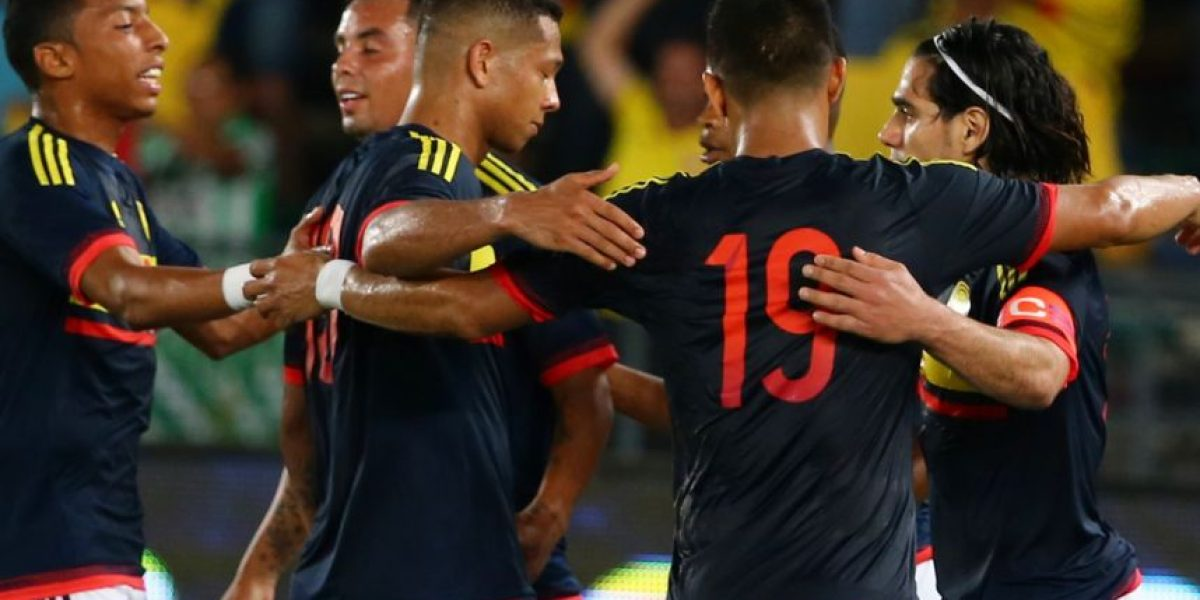Grave error de la página oficial de la Copa América con Colombia