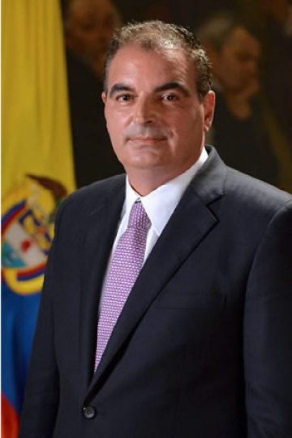 Ministro de Agricultura, Aurelio Iragorri: