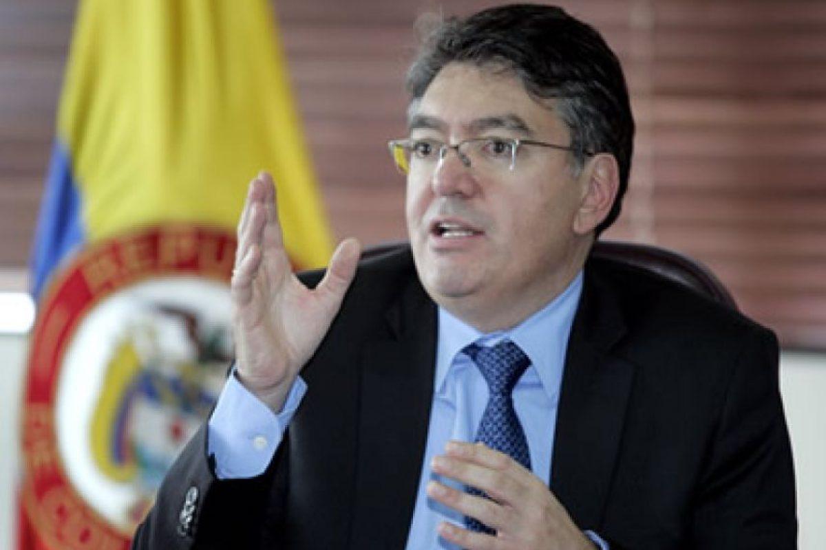 Ministro de Hacienda, Mauricio Cárdenas: