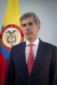 Ministro de Justicia Yesid Reyes