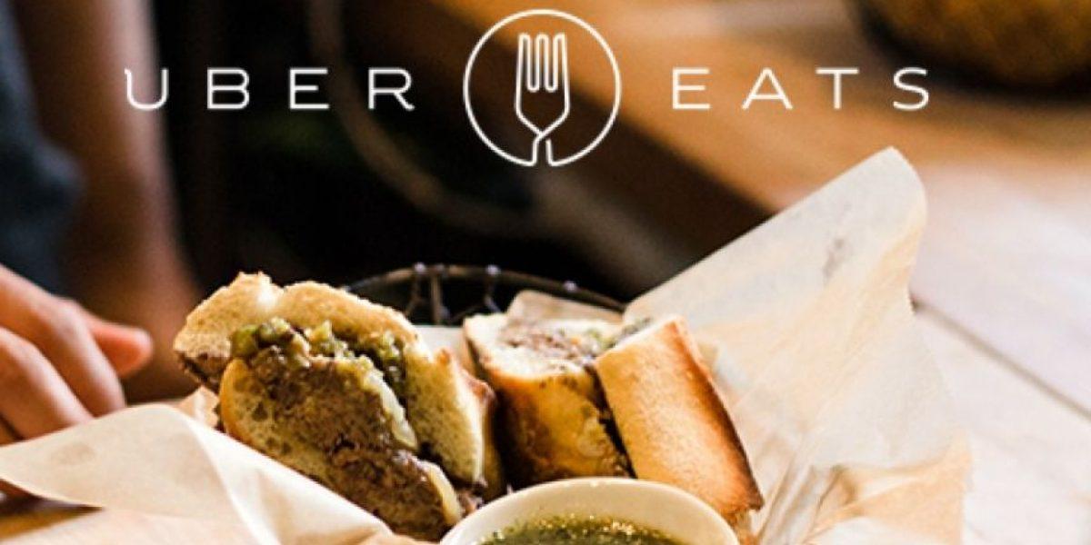 La polémica aplicación Uber ahora permite pedir comida a domicilio