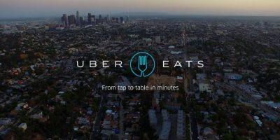 Uber Eats está disponible en algunas ciudades. Foto:Uber