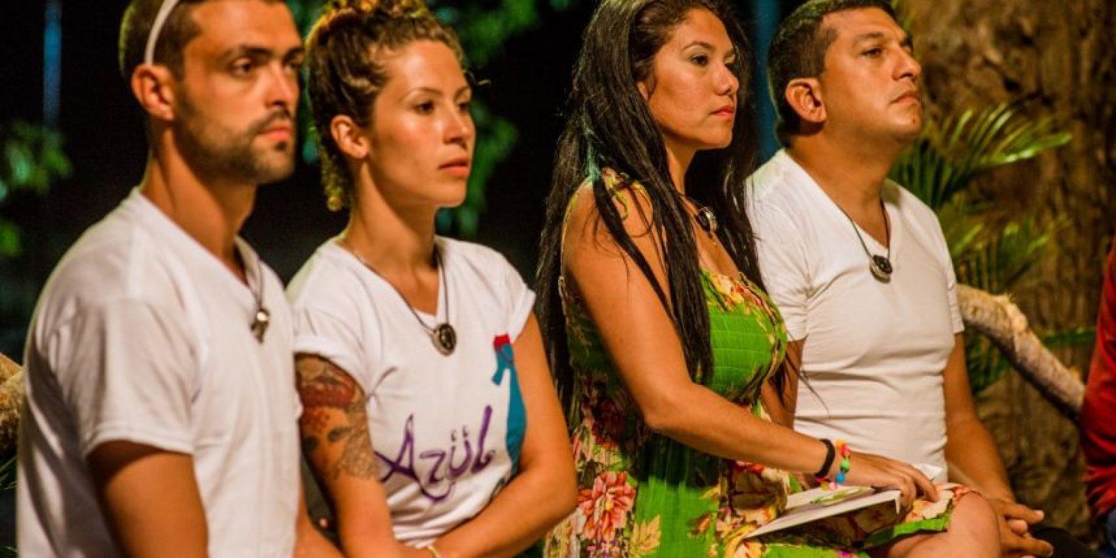 David y Michelle, primeros eliminados de 'Separados'. Foto:Cortesía RCN