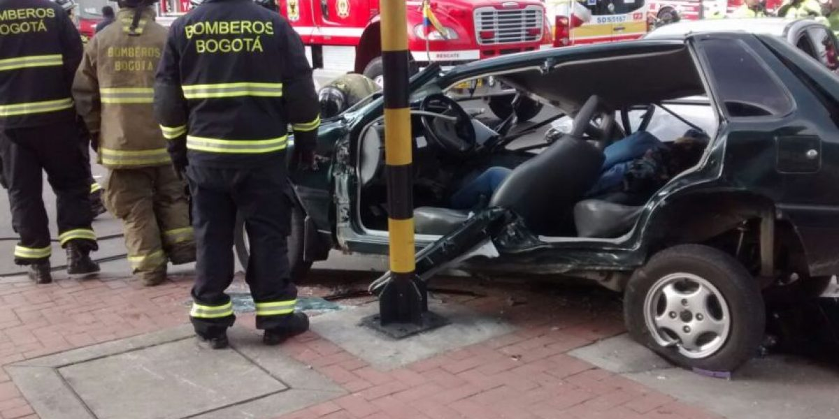 Grave accidente en Bogotá deja una persona muerta