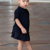 A Kim le resulta muy divertido ver como su hija se toma fotos Foto:Grosby Group