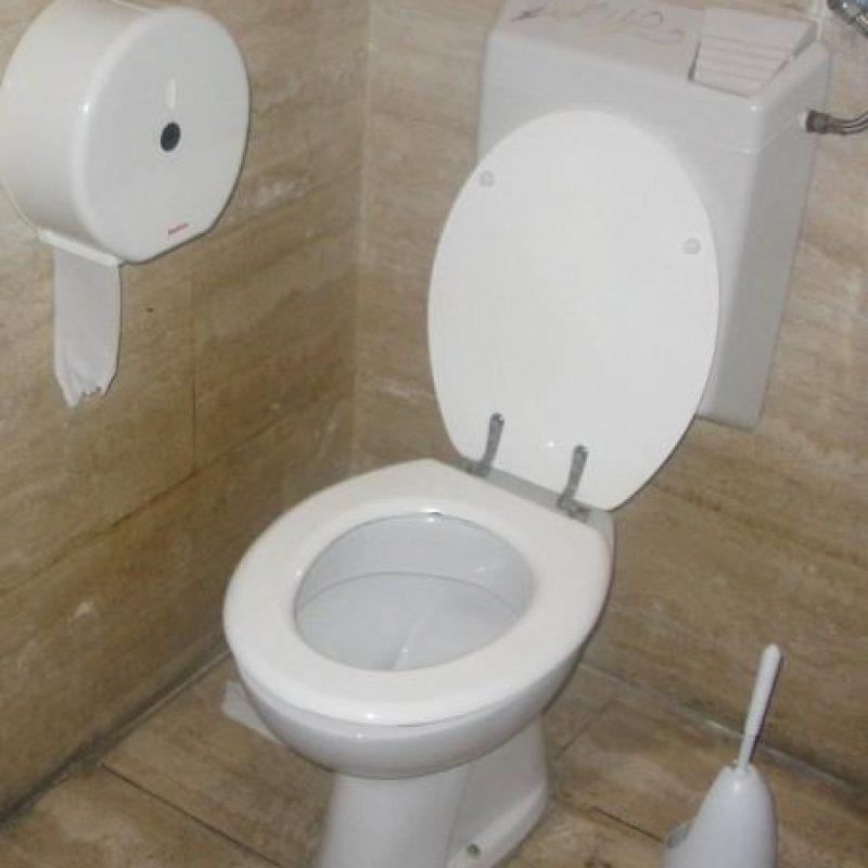 """""""Además, nadie podría entrar al baño a espiar sin antes ser visto"""". Foto:Wikimedia"""