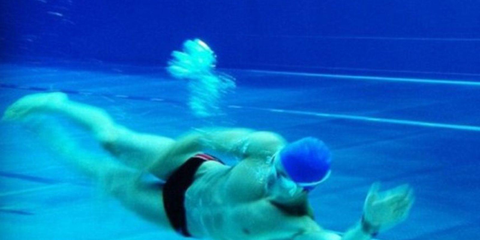 Es un obsesivo del entrenamiento físico. Foto:vía Instagram/Pietro Boselli