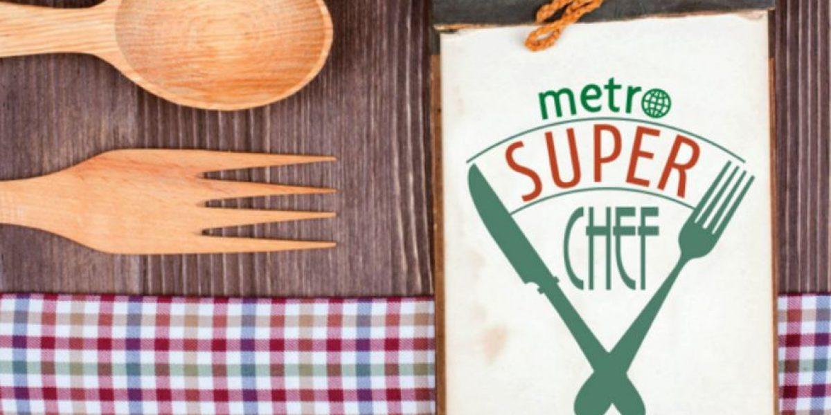 Listos los finalistas de Metro Super Chef