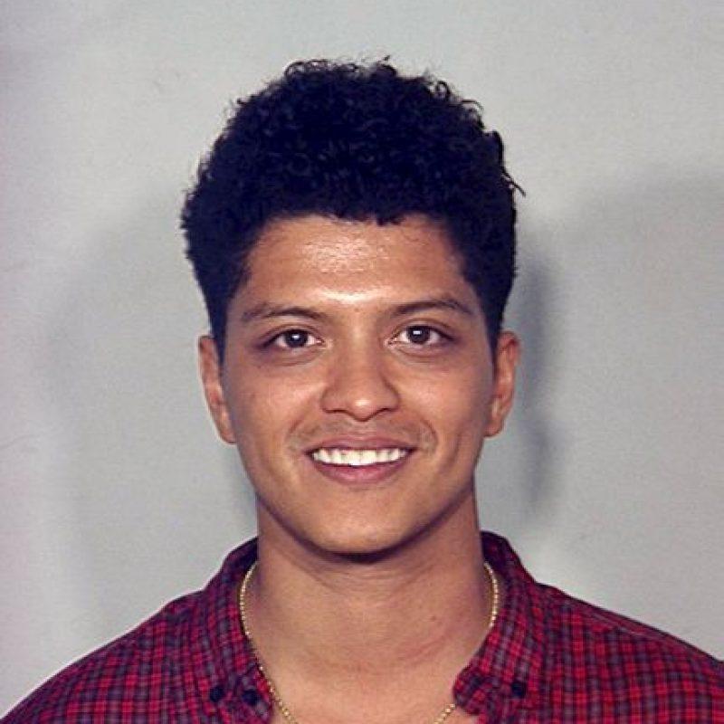 Bruno Mars, detenido por posesión de drogas Foto:Getty Images