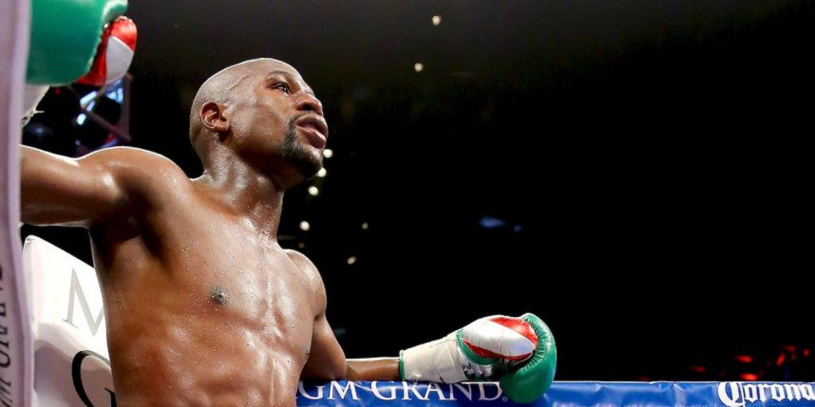 Otra razón que hace que el combate sea tan popular y convincente es la diferencia entre las personalidades de los boxeadores. Foto:Getty Images