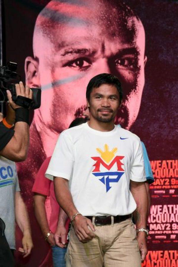 El combate se llevará a cabo el 2 de mayo Foto:Getty Images