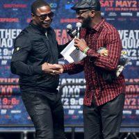 """El rapero Doug E. Fresh y el comediantes Ricky Smiley presentaron a """"Money"""" Foto:Getty Images"""