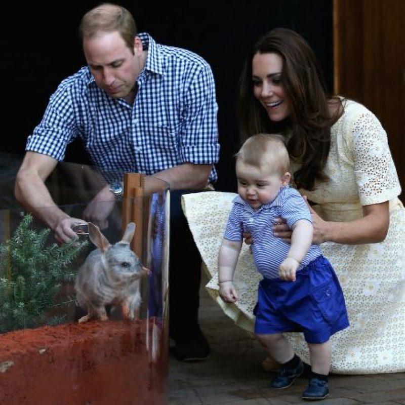 El día de hoy los duques de Cambridge celebran su cuarto aniversario de boda. Foto:Getty Images